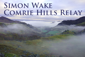 Simon Wake Comrie Hills Relay